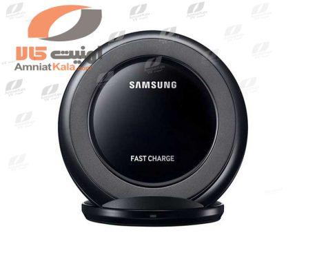 Black-Wireless-Charger-Samsung-EP-NG930-Logo